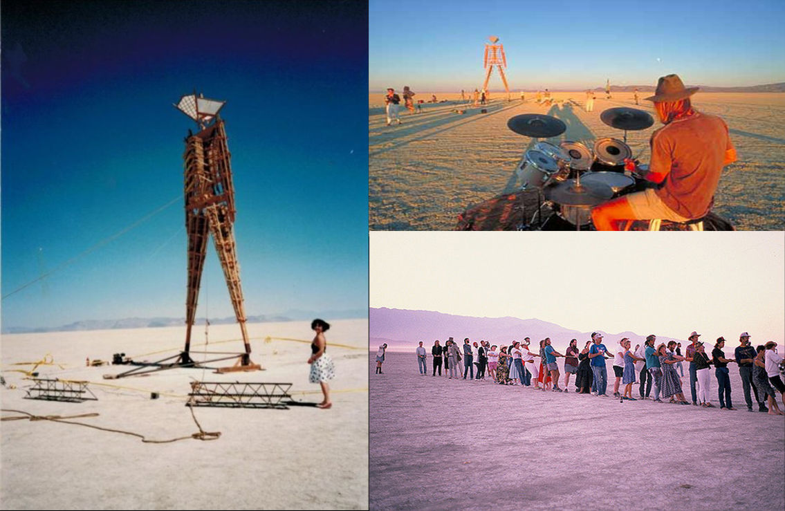 Créditos - https://burningman.org/timeline/#!/1990